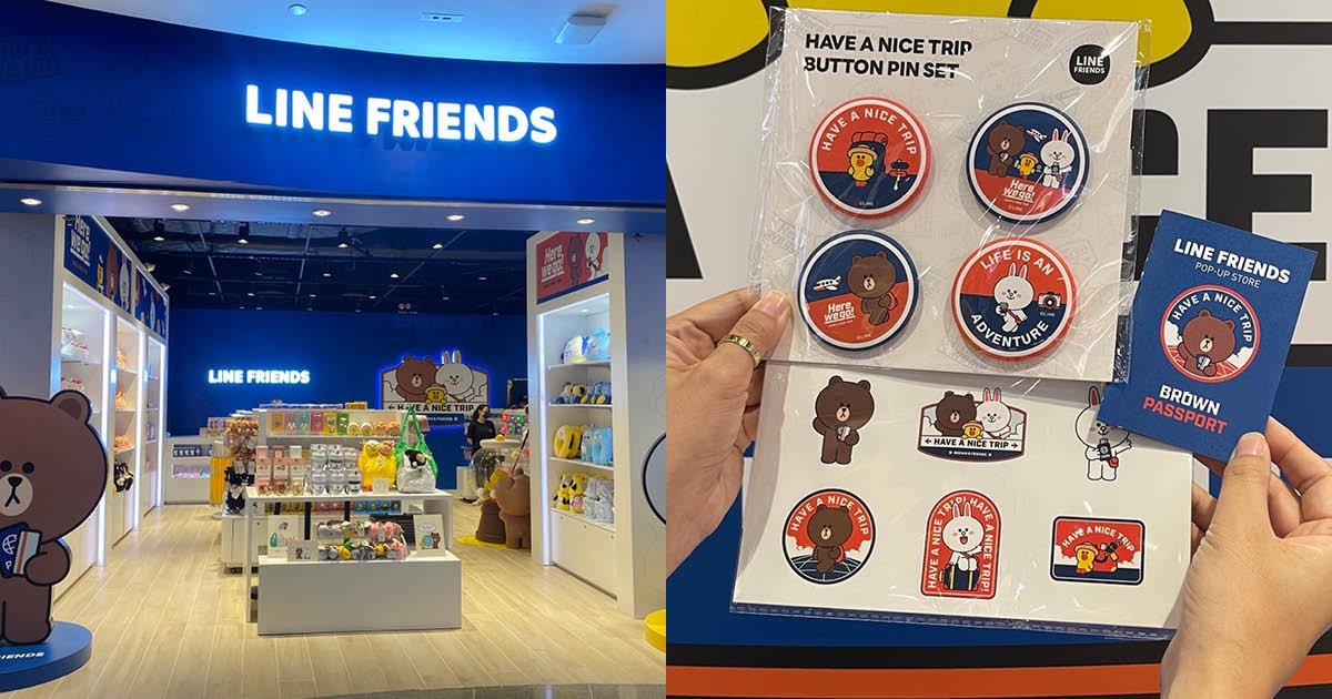 【銅鑼灣】LINE FRIENDS期間限定店開幕 多款專屬限量精品+購物禮遇