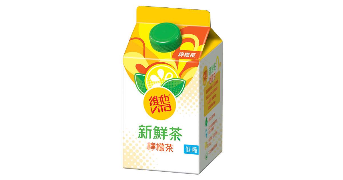 維他 夏日冷泡新鮮茶