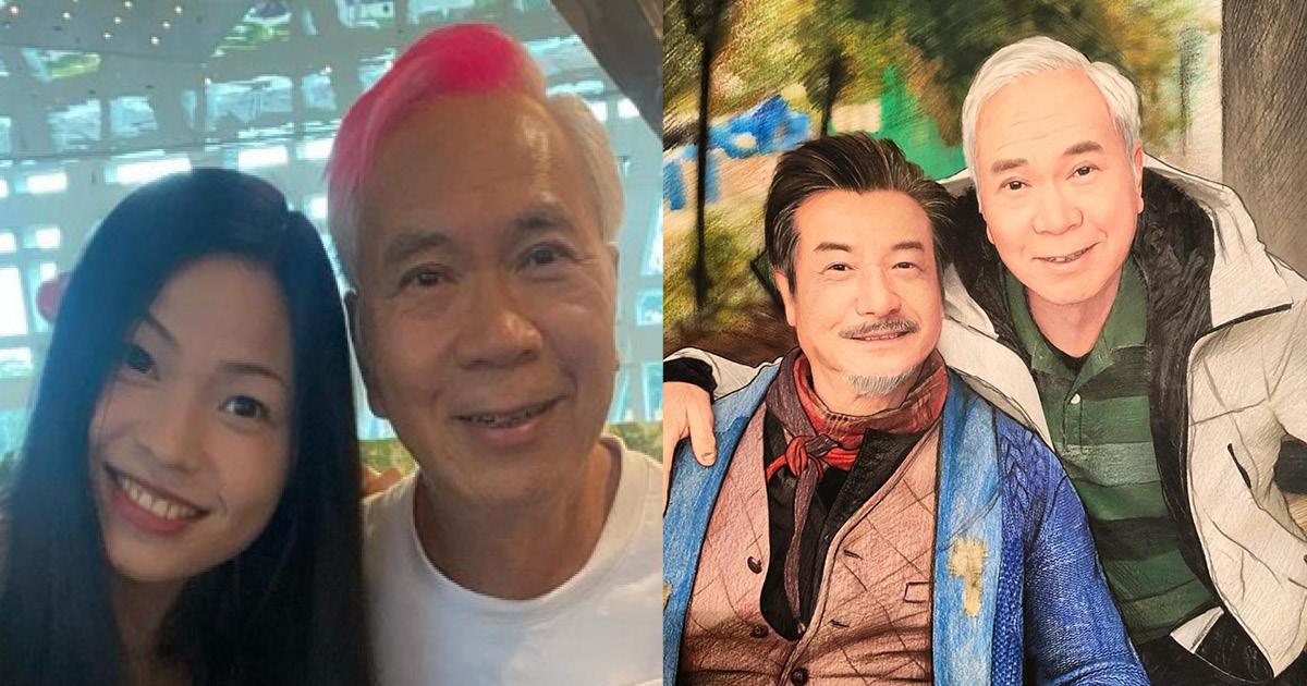 【娛圈爺孫戀】69歲李龍基有30歲靚妻  幫明星畫人像超有才華