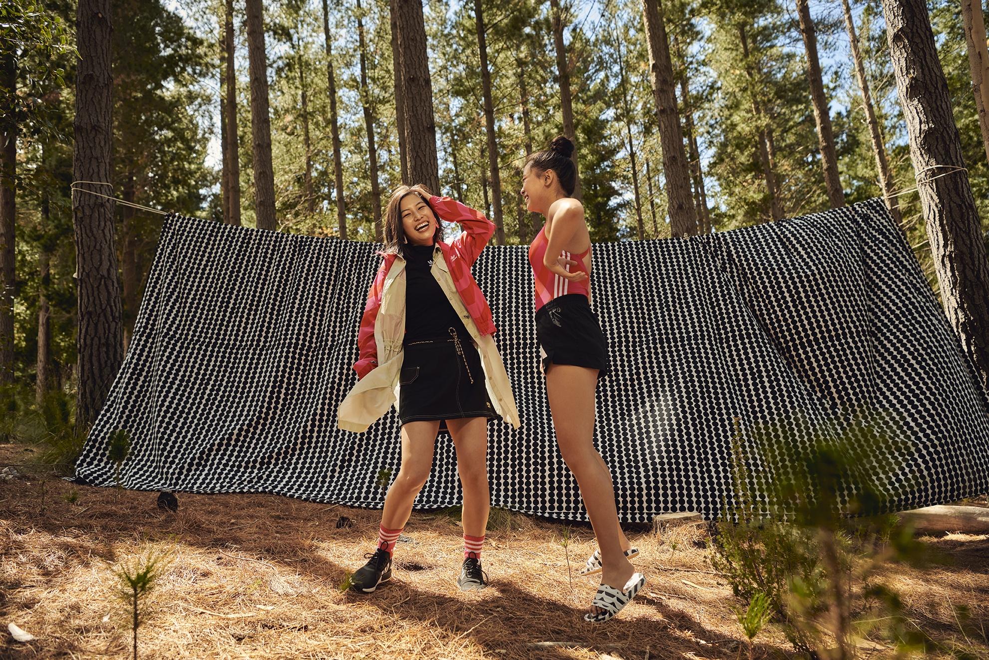 adidas x Marimekko 當運動服飾遇上北歐印花