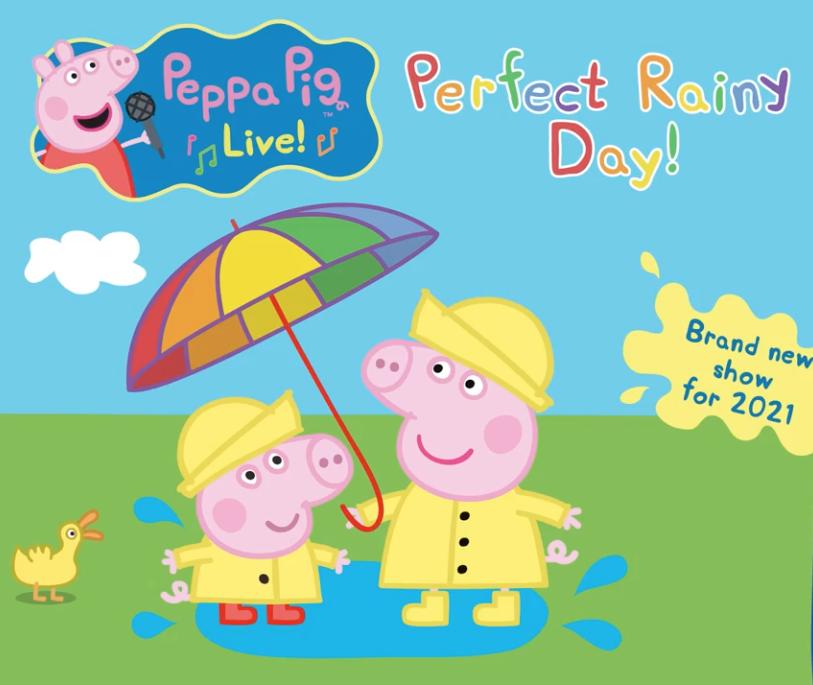 全新Peppa Pig音樂劇 復活節登陸香港