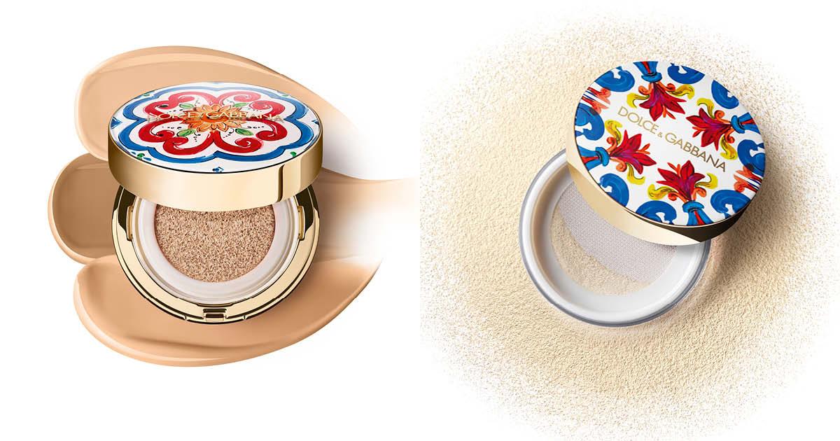 Dolce & Gabbana Beauty 打造地中海般光澤
