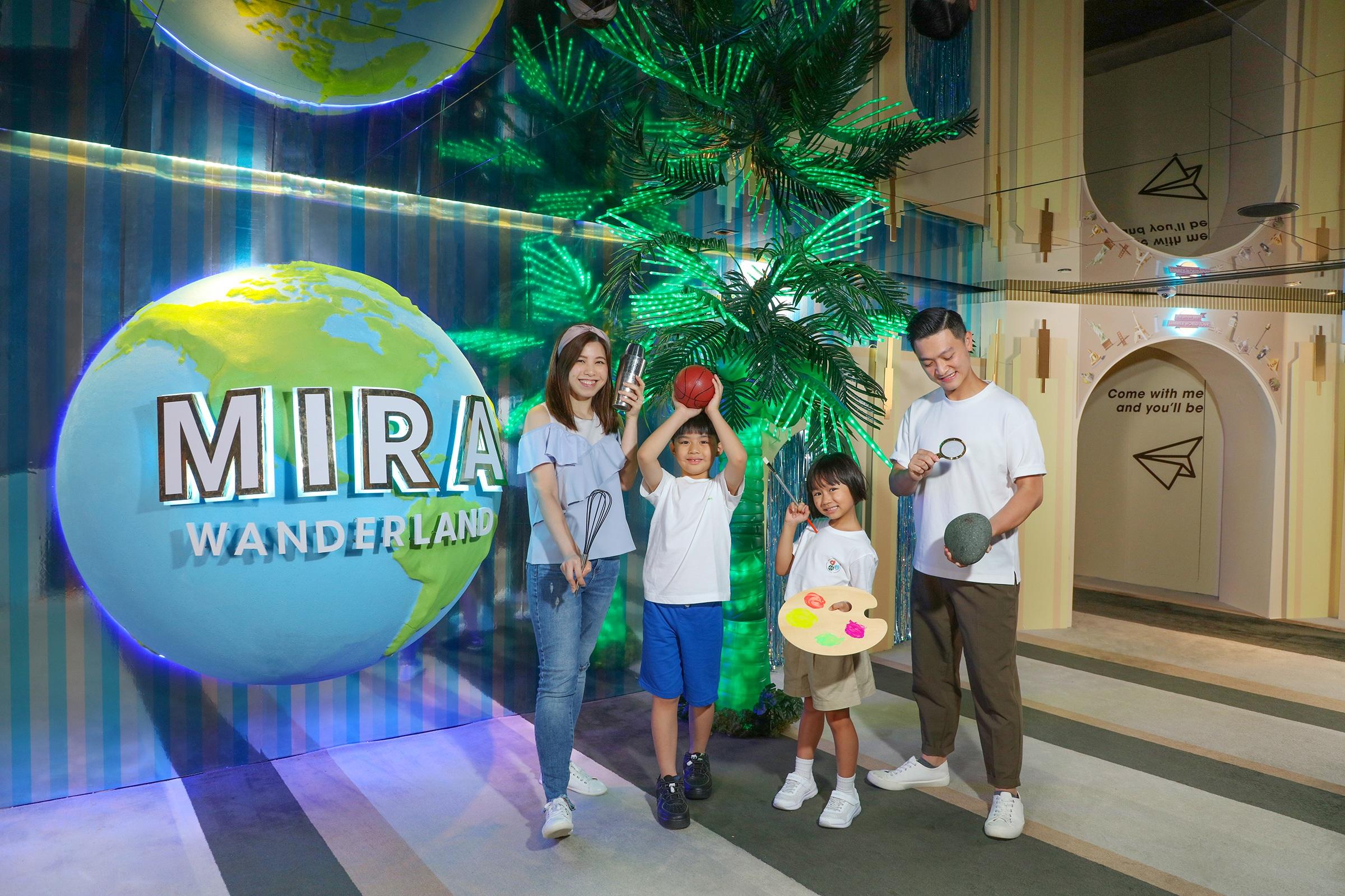 The Mira Hong Kong 全新Staycation大玩Mira Wanderland