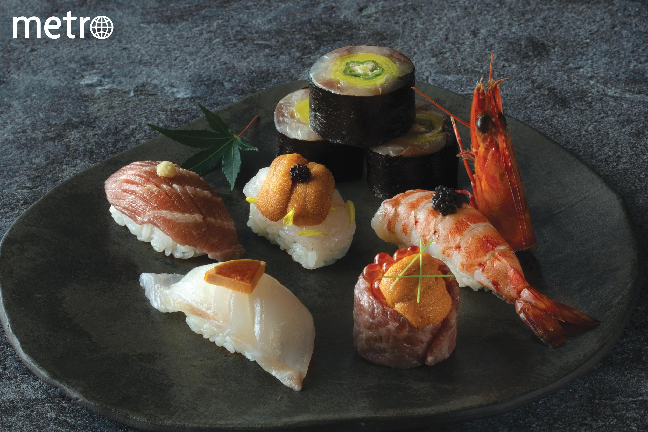 千両六道菜套餐 集刺身 煮物 燒物 壽司