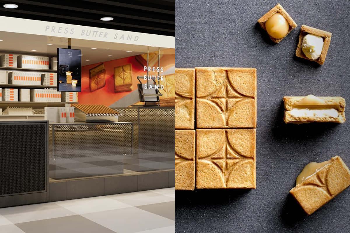 PRESS BUTTER SAND 登陸香港 售日本焦糖奶油夾心餅