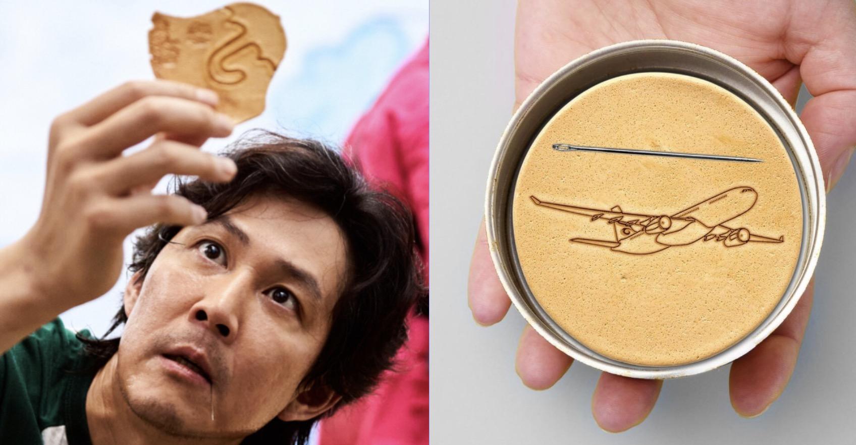 《魷魚遊戲》大熱   香港航空用椪糖抽水   網民:死硬啦,好唔老黎