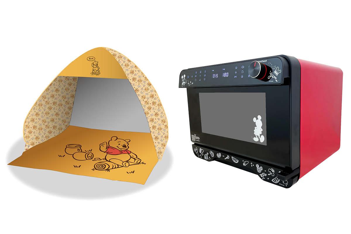 迪士尼 精品登陸7仔預購站 秋天必備帳篷及型格廚具