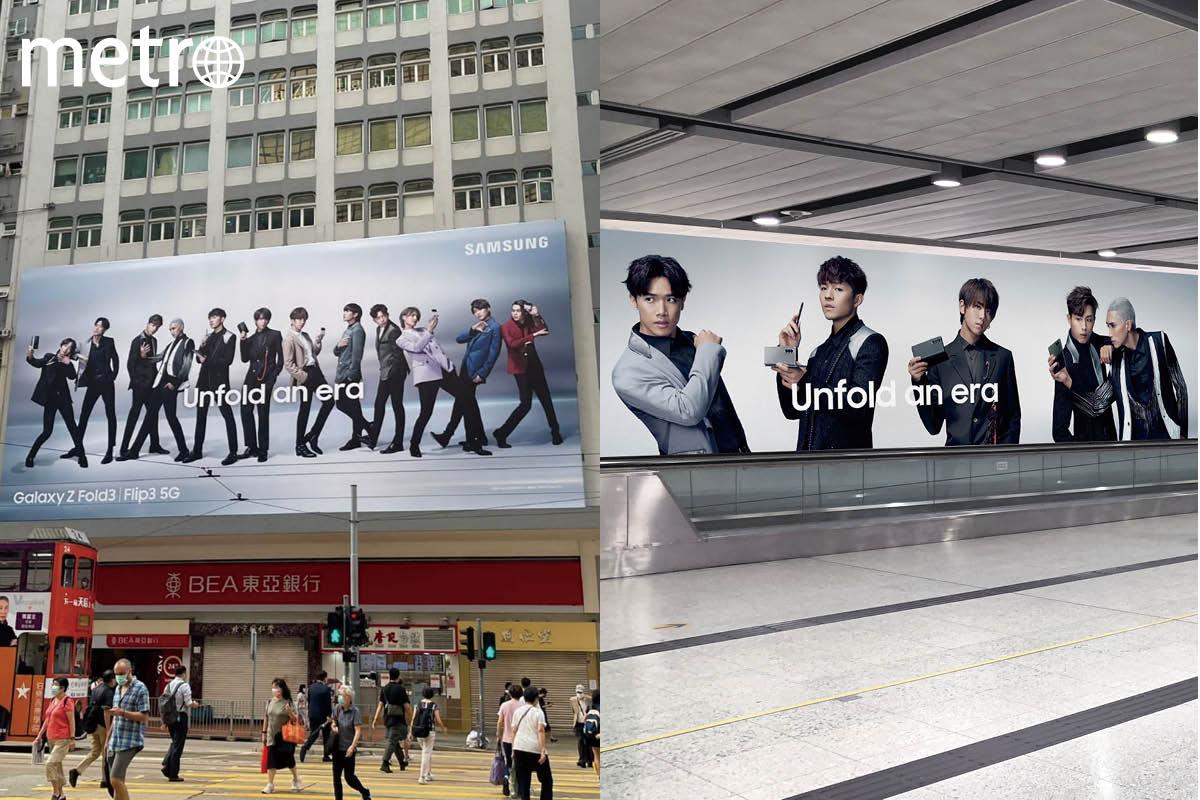 MIRROR 廣告攻陷香港 5大打卡地方一覽